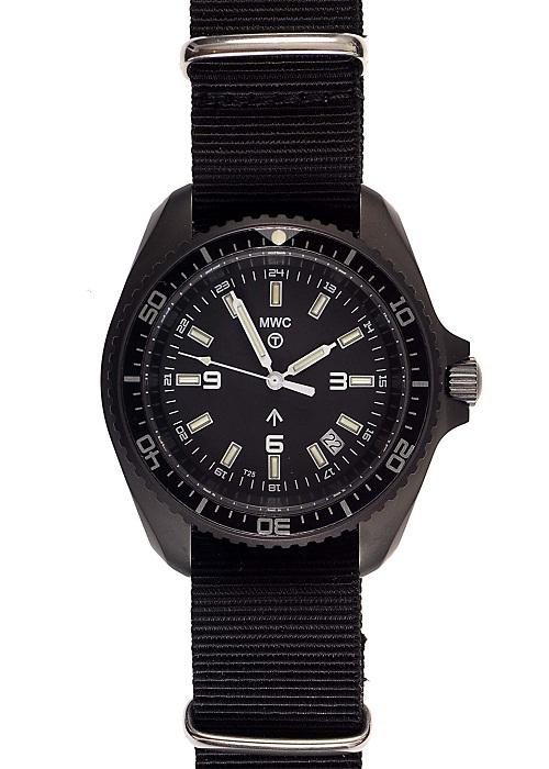MWC 2011 Tritium Divers Watch on strap