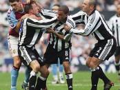 Bójka Dyera z Bowyerem, która zakończyła się czerwoną kartką dla obu panów i Newcastle kończyło mecz w 9.