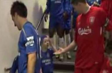 Maskotka Chelsea vs Gerrard.