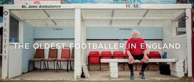 Najstarszy piłkarz Anglii