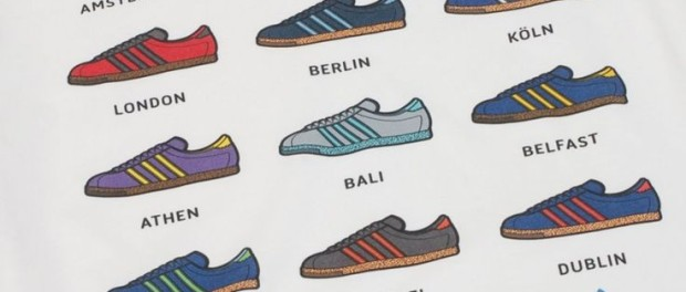 Klasyczne sztuki. Adidas City Series